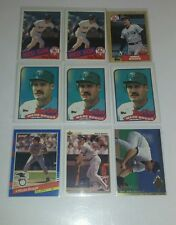 Wade Boggs 9 Card Lot Boston Red Sox MINT H.O.F.ER