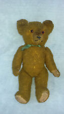 1900's 38 cm TALLl ANTIQUE BROWN /GOLD TOY MOHAIR  EARLY TEDDY BEAR