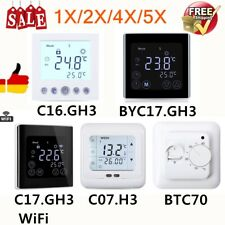 Digital Thermostat Raumthermostat Fußbodenheizung Wandheizung Wandthermostat NEU