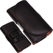 Universal Holster Belt Clip Loop Case  PU-Leather Pouch Holder for Mobile Phones