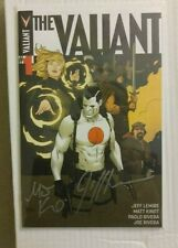 VALIANT ISSUE 1 NM++ HIGH GRADE and SIGNED BY MATT KINDT AND JEFF LEMIRE COA