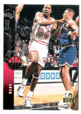 Willie Burton 1994 Upper Deck Miami Heat insert Basketball Card no.92