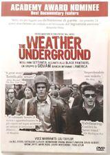Dvd The Weather Underground di Sam Green e Bill Siegel 2002 Usato