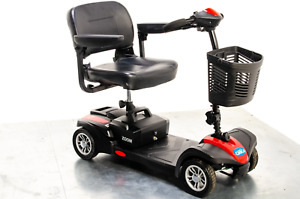 CareCo Zoom Used Mobility Scooter Small Transportable Boot Travel Folding Red 4m