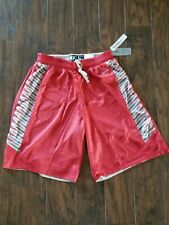 c301ca151e370f New Mens Eastbay Evapor Reversible Basketball Shorts Size Large Red   Gray