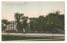 Eagle Hotel East Side Park NORWICH NEW YORK NY PM 1908 Vintage Postcard