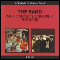 THE BAND (2 CD) MUSIC FROM THE BIG PINK + THE BAND ~ 70's FOLK ROCK *NEW*