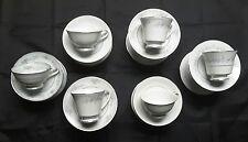 MISMATCHED CHINA LARGE LOT (12) CUPS & SAUCERS  WEDDING TEAS SET $3 EACH