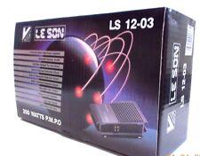200 WATT LE SON P. MP. o - 4 canali Amplificatore Stereo Auto-LS 12-03 - NUOVO