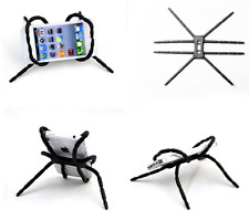3x Flexible Car Univer Spider Flexi Mobile Phone Holder Mount Stand Table -BLACK