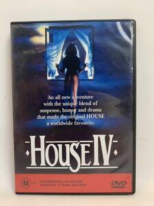 HOUSE IV rare AU DVD cult 80s horror movie
