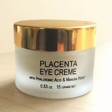 All Natural Placenta Eye Cream w Hyaluronic Acid & Manuka Honey - New Zealand
