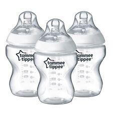 3 Biberon Tommee Tippee 42253071 Senza bisfenolo-A (BPA), 3 Pezzi da 260 ml