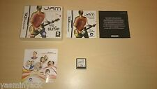 JAM SESSIONS - UBISOFT - CARTRIDGE - VGC - NINTENDO DS 2007 - TESTED - EU VER