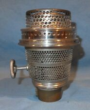 Nickel Aladdin Model B Chicago oil lamp Burner
