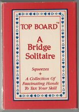 Top Board A Bridge Solitaire Squeezes Card Deck Game
