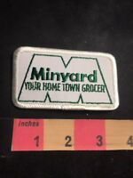 Supermarket Grocery Store Advertising Patch MINYARD YOUR HOMETOWN GROCER 89K8