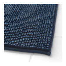 IKEA TOFTBO Non-Slip Microfibre Bathroom Bath Mat Bathmat Rug 60 x 90cm in Blue