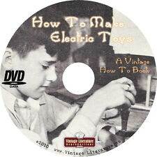 How To Make Electric Toys {Vintage Electronic How-To Plans} on Cd