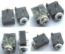 "10PCS 1/8"" 3.5mm Stereo Socket Jack Headphones With nut PCB Panel Mount Chassis"
