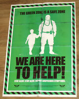 Prototype 2 very rare Green Zone Poster 54x38cm