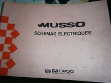 Daewoo MUSSO : Schémas électriques