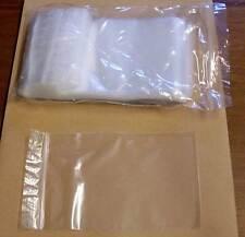 500 Druckverschlussbeutel Tüten Tütchen transparent Zipper 100x125mm Stempelfeld