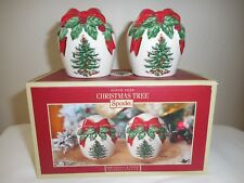 Spode Christmas Tree Salt and Pepper Shakers