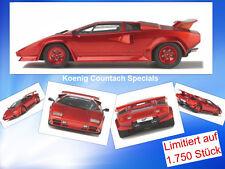 Re Specials COUNTACH Turbo stata limitata 1.750 pezzi GT Spirit GT 134 1:18