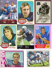 BALTIMORE COLTS CARD LOT JOHN UNITAS 1972 TOPPS JIM O'BRIEN TED HENDRICKS PLUS!