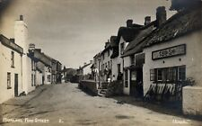 Hartland near Clovelly. Fore Street # 2 by Headon. T.Beer & Sons Shop.
