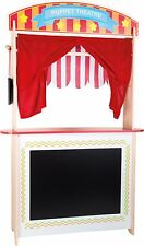 Puppet Show Theatre Display Market Stall Selling Children Pretend Play 2 In 1!