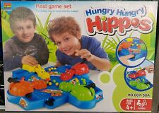 Hungry Hippos The Classic Marble Chomping Hippo-Feeding Kids Educational Game