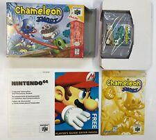 Nintendo 64 CHAMELEON TWIST N64 USA