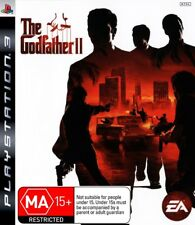 The Godfather II 2 Mobster Gangster Mafia Role Play Game PS3 Sony Playstation 3