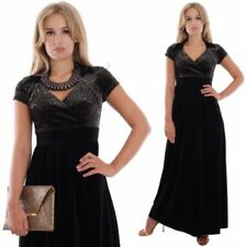 V-Neck Special Occasion with Cap Sleeve Dresses for Women