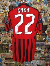 maglia calcio shirt maillot camiseta trikot MILAN KAKA TG M PATCH CHAMPIONS