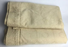 2 SFERRA  King Size Pillow Shams Champagne/Gold Color 100% Egyptian Cotton 19X35