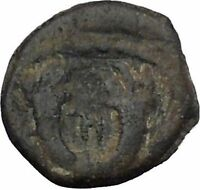 Aretas IV Arab Kingdom of Nabataea PETRA 4BC Original Ancient Greek Coin i50402