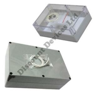Sealed IP65 Dustproof Waterproof ABS Electric Electronic Enclosure boxes Clear