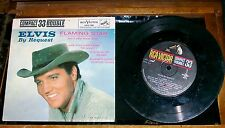 Elvis By Request Flaming Star RCA Victor LPC-128 Compact 33 Double Rare