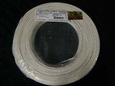 22 GAUGE 2 CONDUCTOR 100FT WHITE ALARM WIRE STRANDED COPPER HOME SECURITY CABLE
