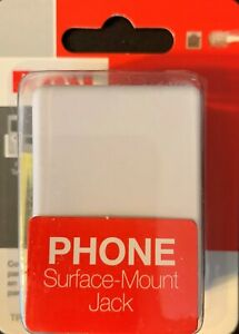 RCA  Phone Surface-Mount Jack Connector Choose Color FREE SHIPPING