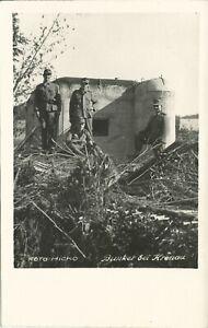 AK Soldaten Bunker bei Chrzanow (dt Name: Krenau) in Polen, nicht gelaufen WK II