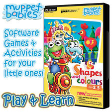 Muppet Babies Colours & Shapes (PC CD-ROM) Childrens Educational PC game