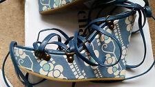Designer CACHAREL des sandales compensées-Neuf avec étiquettes/BOX