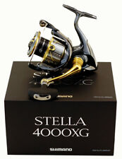SHIMANO STELLA STL-4000XGFI 6.2:1 GEAR RATIO SPINNING REEL