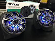 Polaris Razor Rzr Xp1000 Under Dash speaker Pods & Kicker KM-LED Moto Speakers