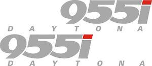 Triumph Daytona 955i Vinyl stickers