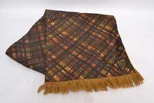Dapper Vintage Men's Duggie Majestic Silky Patterned Wool Scarf